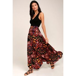 Lulus Immensely Talented Floral Maxi